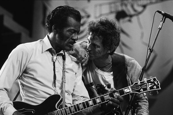 Hail Hail Rock 'n' Roll, starring Chuck Berry and Keith Richards