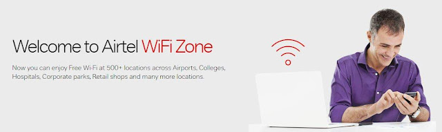 airtel wifi location