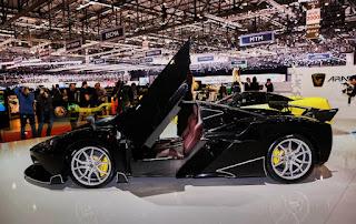 Hybrid Super Car Arash AF10 At Geneva Motor Show 2016