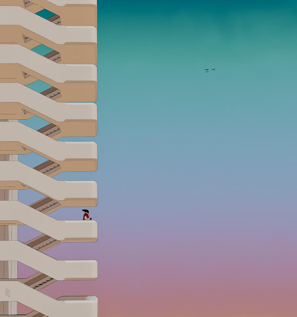 imagenes de soledad chidas en otros planetas - arte digital - dibujos creativos