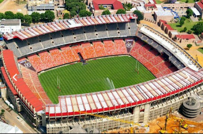 Estadio Ellis Park en Sudafrica