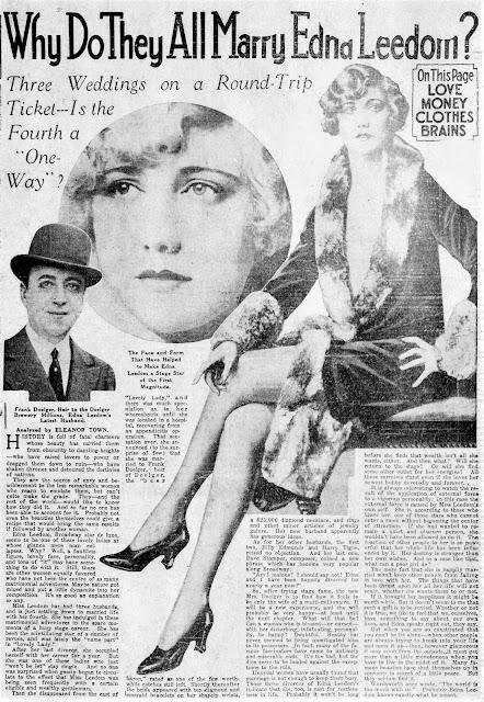 Edna Leedom Frank Doelger Article