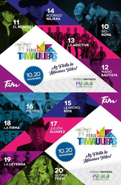 feria tamaulipas 2016