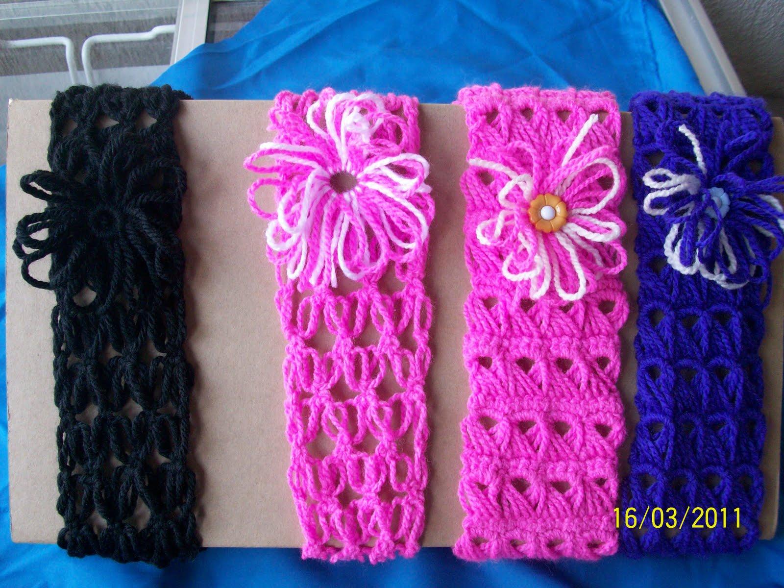 Diademas Tejidas A Crochet Tejiendo Hilando Y Anudando - Como-se-hacen-diademas