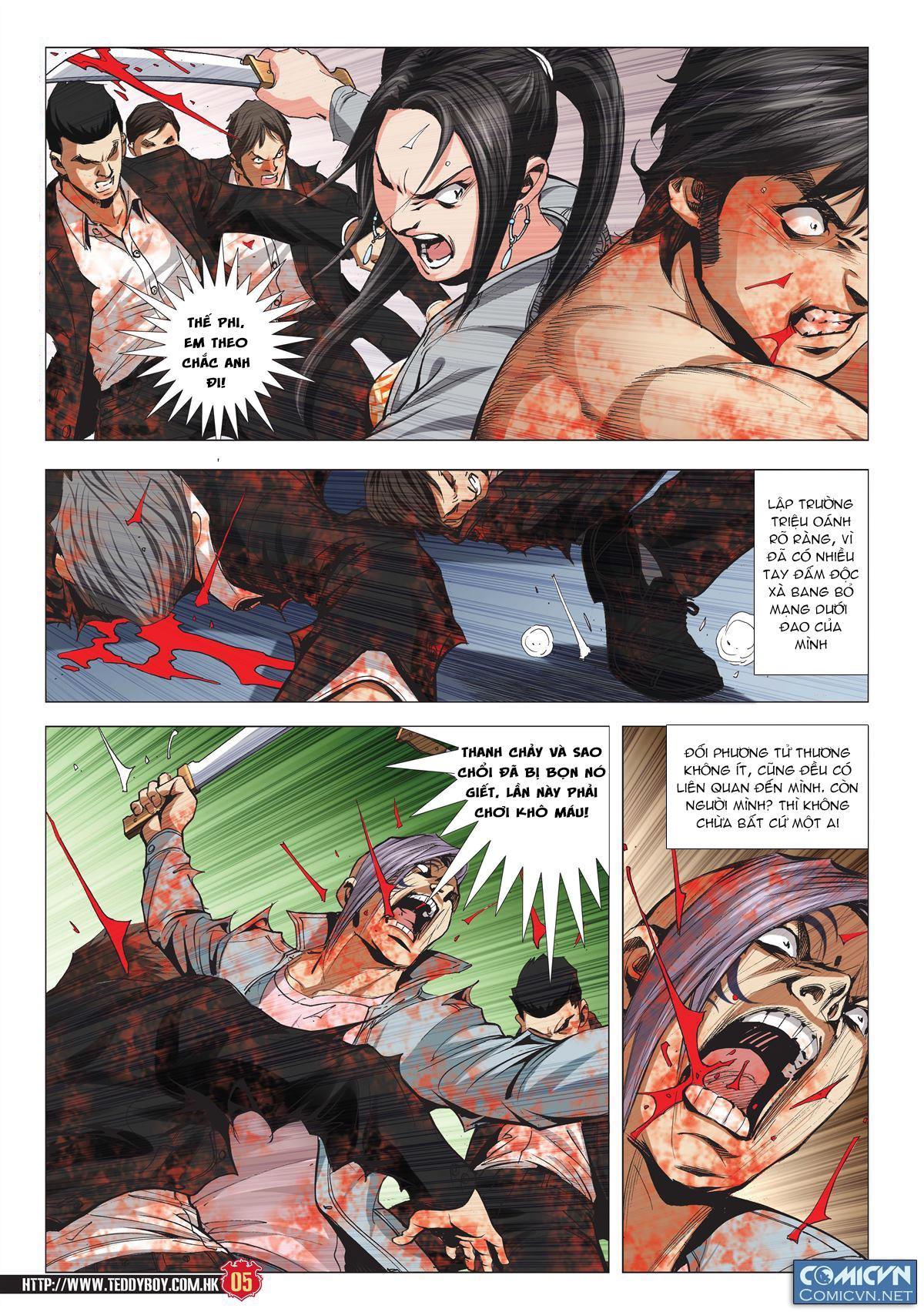 Người Trong Giang Hồ chapter 1997: triệu oánh vs đinh dao trang 3