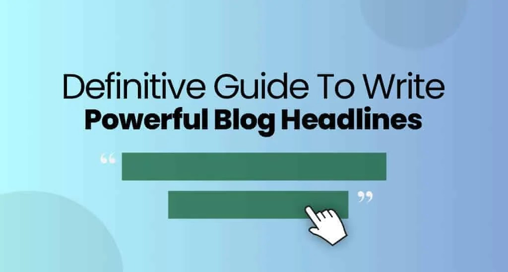 How To Write Headlines For contents