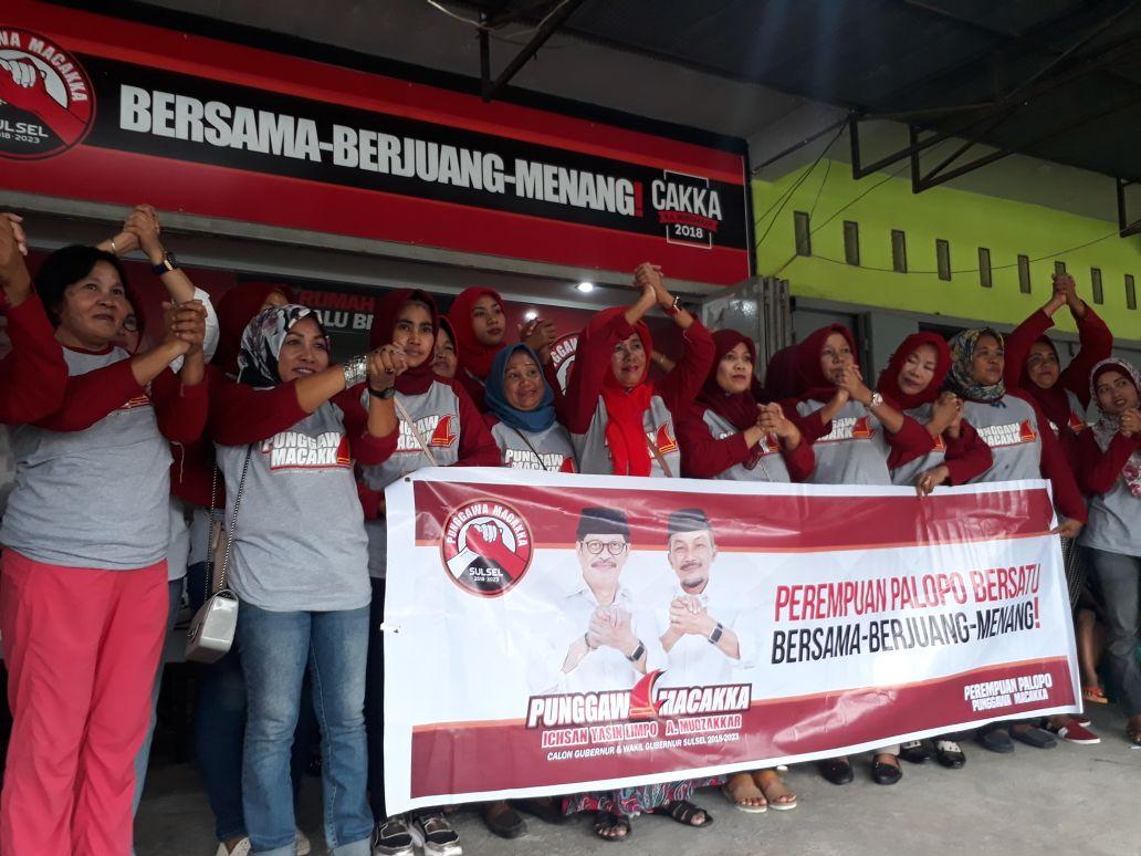 Srikandi Tim Sukses Cawalkot Palopo Menyatu Menangkan IYL - Cakka