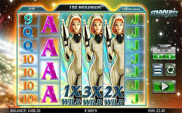 Main Gratis Slot Indonesia - Starquest Megaways (Big Time Gaming)