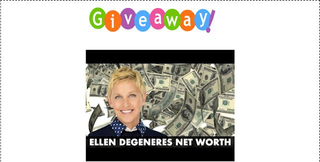 TUBE ELLEN GIVEAWAY MONEY CASH: Giveaway Ellen Degnerse