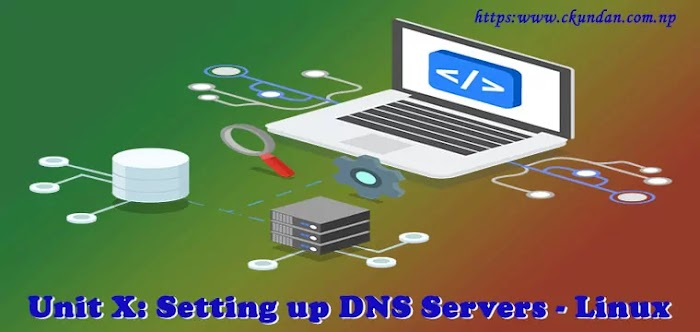 Unit X: Setting up DNS Servers - Linux