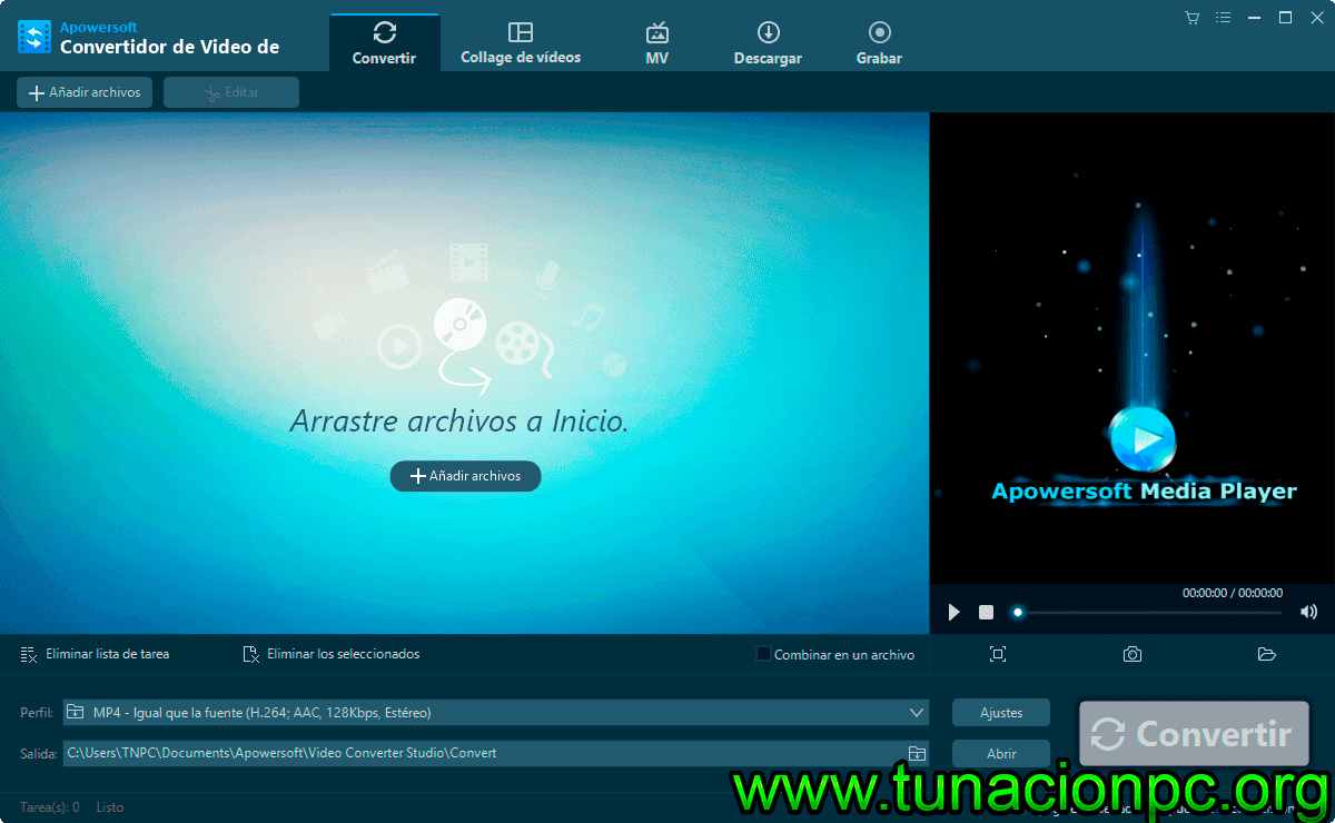 Descargar Apowersoft Video Converter Studio Full Español