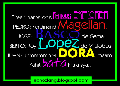 Name One Famous explorer | Dora The Explorer