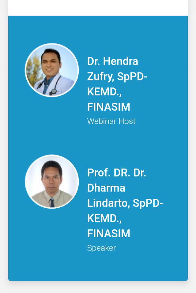"Free SKP IDI: ""Practical Guidance on Intensification: Basal Bolus and Premix Insulin"" bersama  Prof. DR. Dr. Dharma Lindarto, SpPD-KEMD, FINASIM dan Dr. Hendra Zufry, SpPD-KEMD, FINASIM (11 Oktober 2019)"