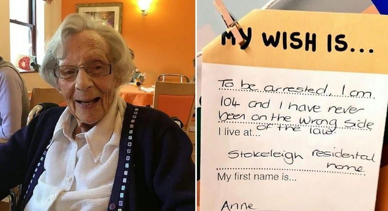 القبض على مسنة عمرها 104 سنوات !