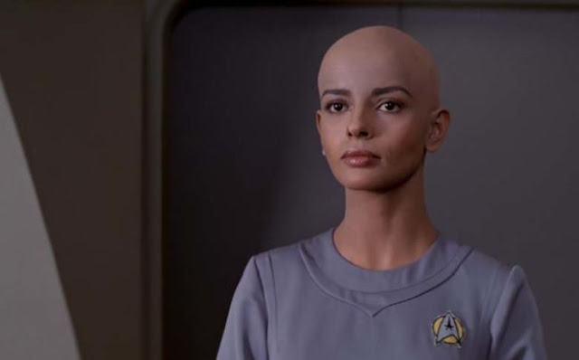 Persis Khambatta as Ilia in Star Trek