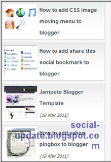 [How to] Add Sliding Recent Post Widget To Blogger.[Tutorial]