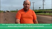 Vídeo gravado pelo prefeito de Trizidela do Vale surte efeito e trecho entre Miranda e Caxuxa será recuperado.