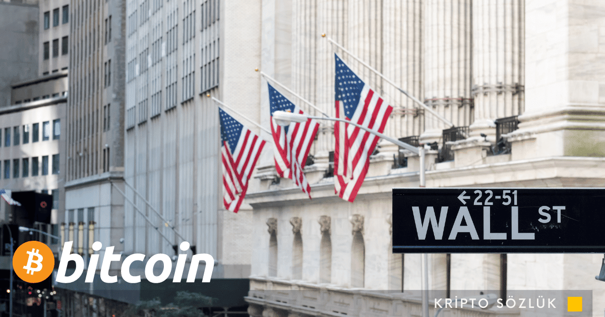 Bitcoin Wall Street S&P DJI