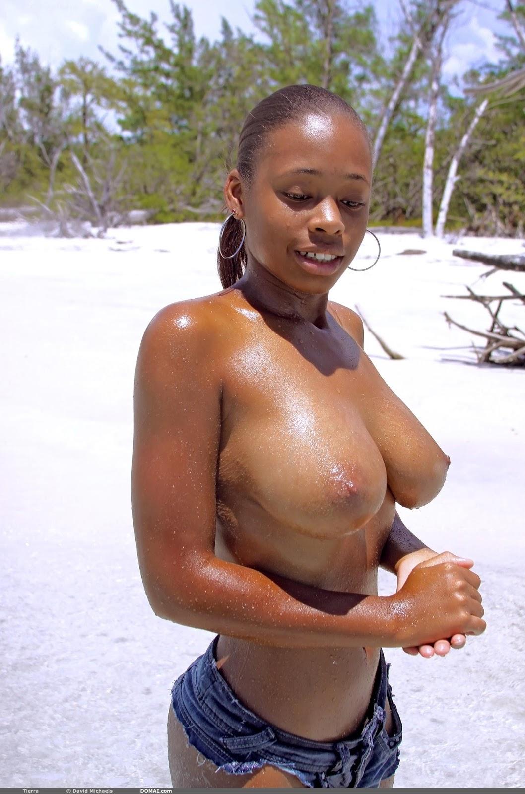 Busty amatuer women naked in shower
