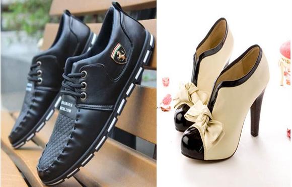 Produtos diversos de qualidade nos calçados