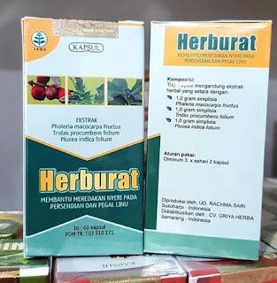 Herburat Capsule For Rheumatic, Gout and Joint Pain