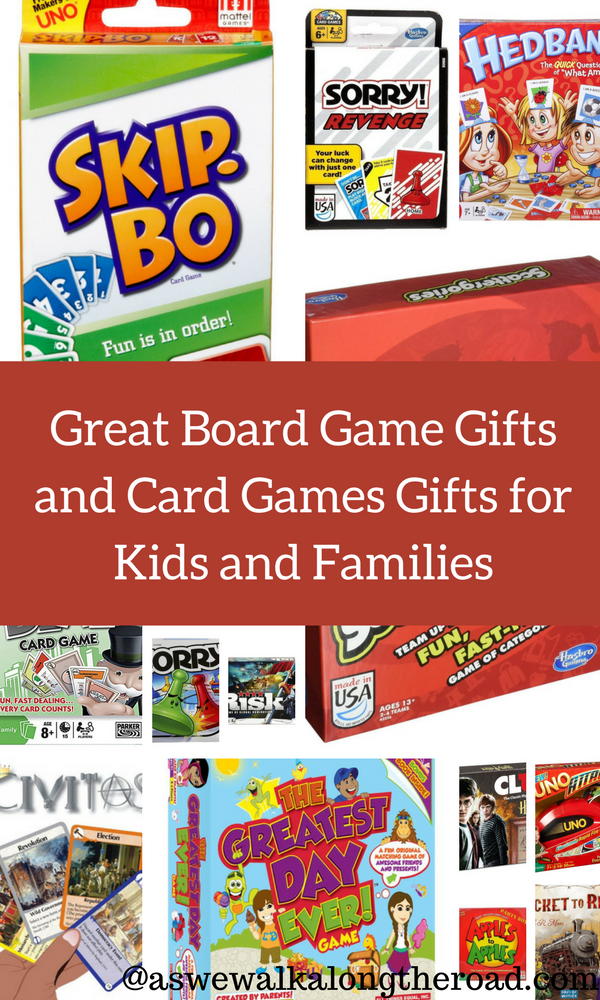 Board game and card game gifts