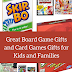 Great Board Game Gifts and Card Games Gifts for Kids and Families