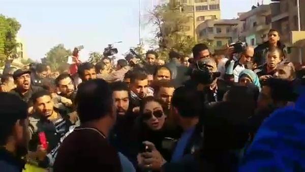 بالفيديو،لحظة طرد،ريهام سعيد،،الكاتدرائية المرقصية بالعباسية