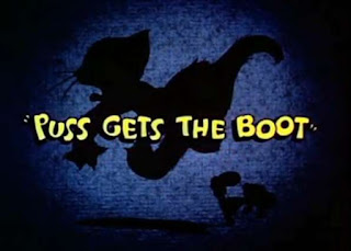 Tom and Jerry Cartoon Puss Gets The Boot Episode, first episode