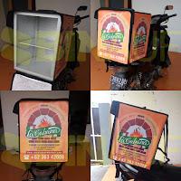 Produsen Tas delivery makanan surabaya lacabana pizza