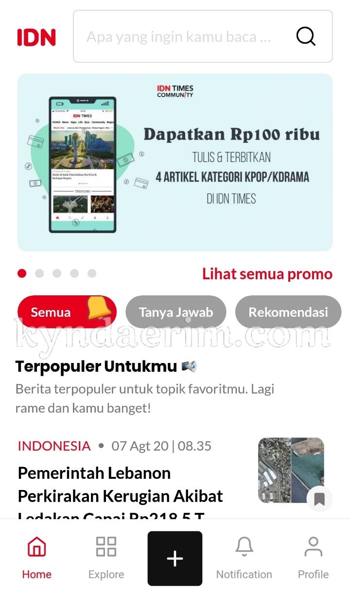 Download IDN Aplikasi berita terlengkap