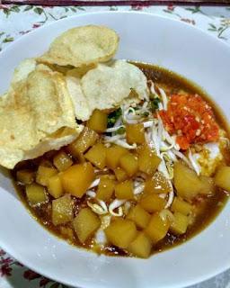 Makanan khas Betawi bubur ase