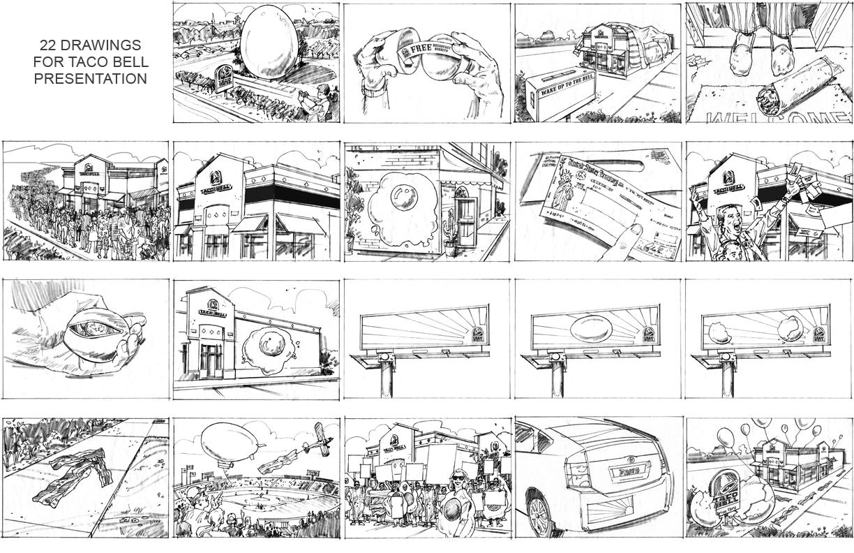 Storyboards Keyframes By Gary Myers