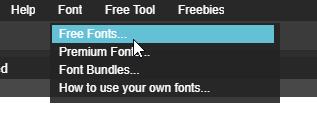 Cách đưa font vào Photoshop online