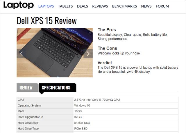 إليك أفضل 3 مواقع لمعرفة مواصفات أي لاب توب قبل شراءه