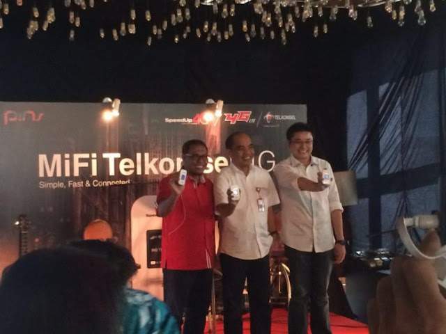 MiFi Telkomsel Speed Up 4G LTE