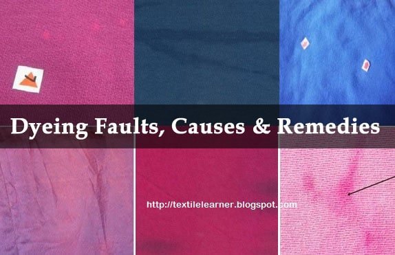 Different dyeing faults