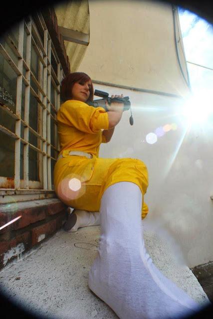 Cosplay April O'Neil, chicas disfrazadas de la reportera de las Tortugas Ninja 8