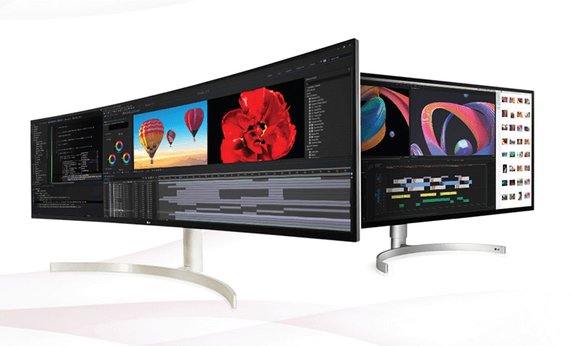 LG UltraWide and UltraGear monitors geared for Content Creation in the new normal