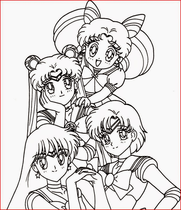 Coloring Pages: Anime Coloring Pages Free and Printable