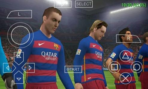Download Pes 2016 ISO with PPSSPP Gold For Android Phones