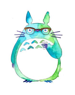 Artist Spotlight: Hipster Totoro