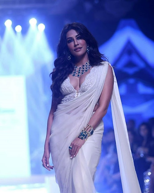 Chitrangada Singh Very Hot in White Saree Photo Collection Actress Trend