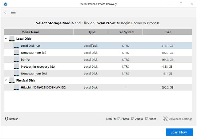 Stellar Phoenix Photo Recovery إسترجاع الملفات المحذوفة مع مفتاح تفعيل من الشركة عرض محدود