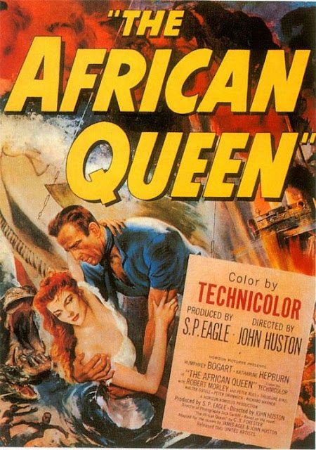 US poster for The African Queen