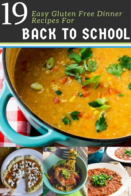 19 Easy Gluten Free Dinner Recipes for Back to School