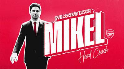 Arteta Becomes Arsenal Coach