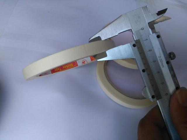 Băng dính giấy 1cm dài 12m