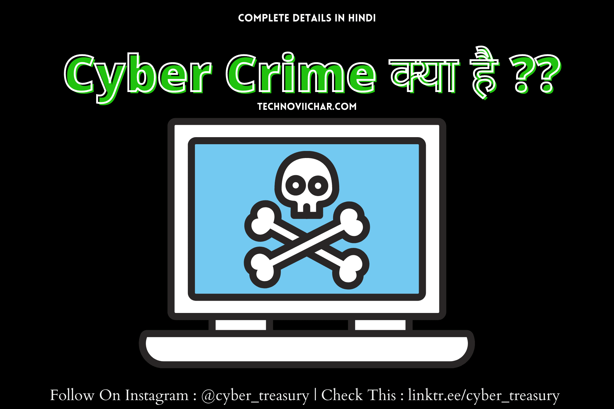 What is Cyber Crime in Hindi