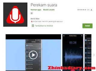 Aplikasi perekam suara android terbaik Normal Apps
